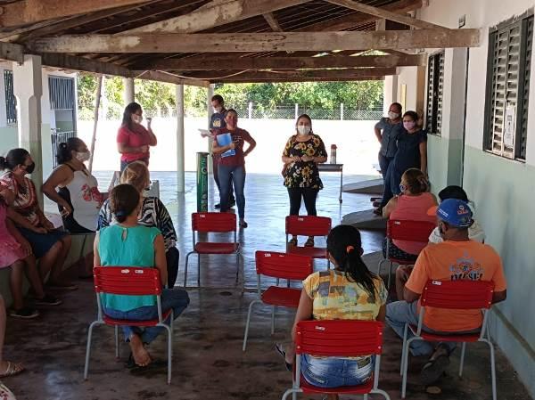 Assistência Social de Dois Irmãos promove encontro com moradores do assentamento Salomira