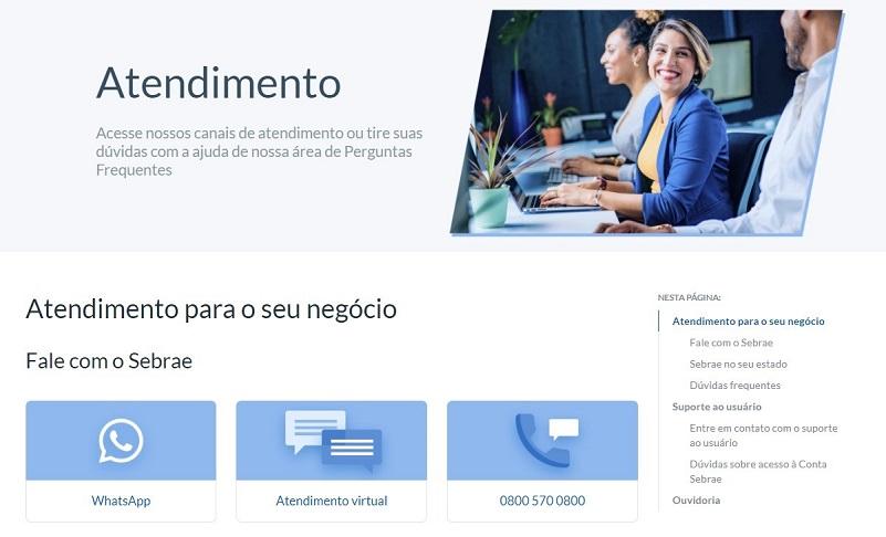Canal de atendimento do Sebrae facilita acesso à informação para os pequenos empresários