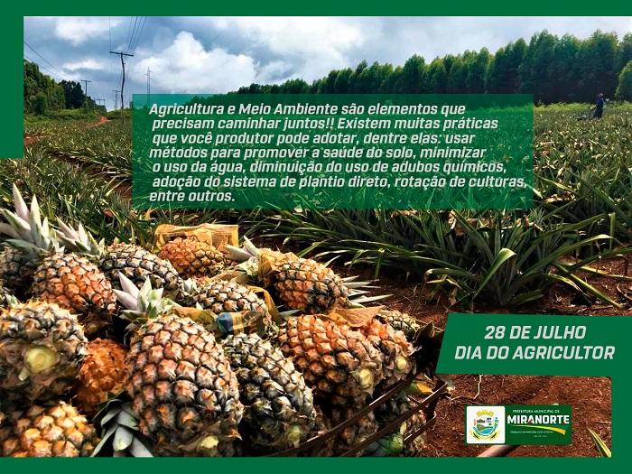 Prefeitura de Miranorte presta homenagem no Dia do Agricultor
