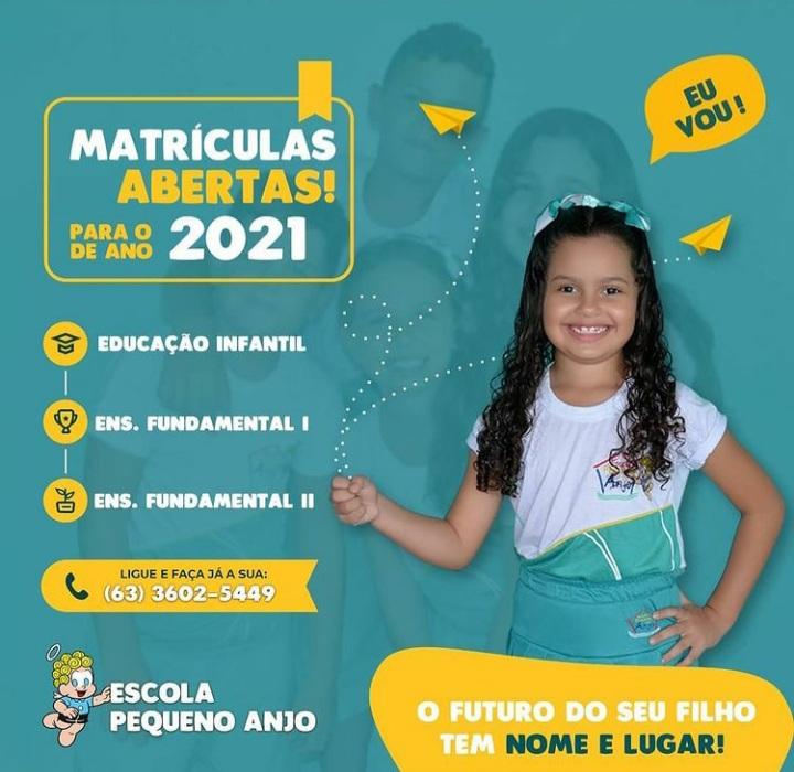 Escola Pequeno Anjo abre matrículas para o 2º semestre em Paraíso