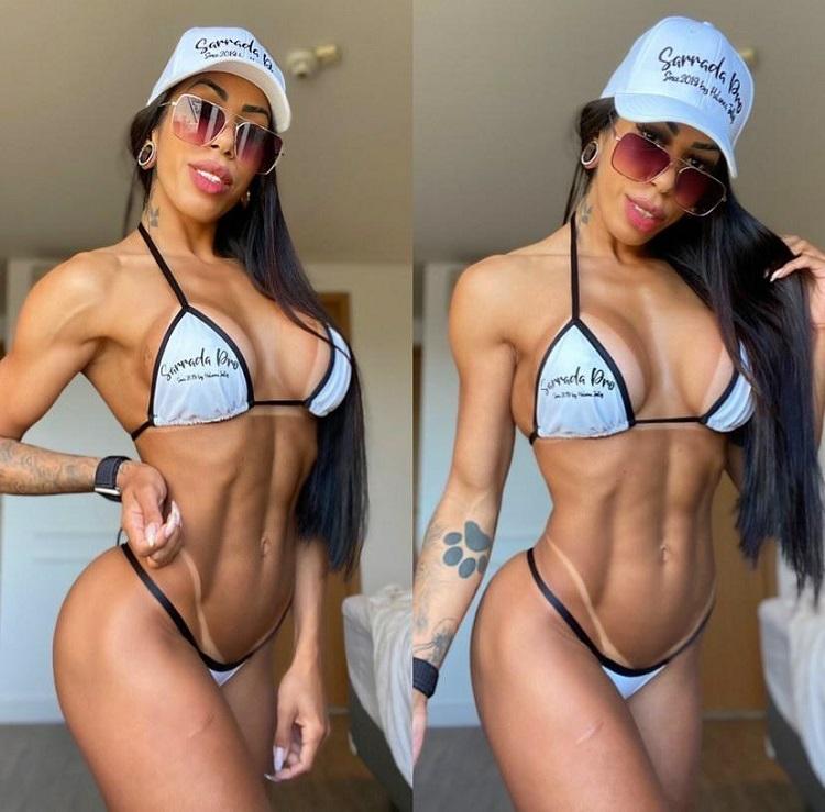 Musa Fitness Jully Halanna se prepara para competição no México