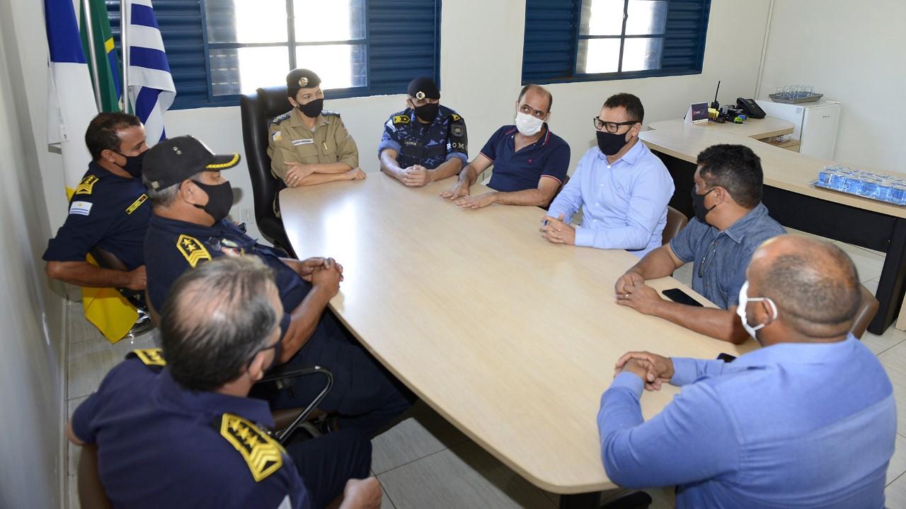 Ações e projetos das áreas de Segurança Pública e Trânsito em Palmas são referências para outros municípios