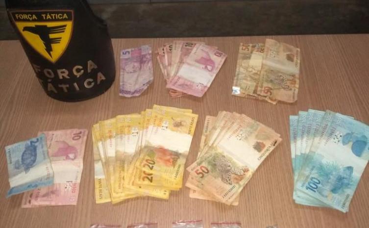 Suspeitos de tráfico de drogas em Divinópolis são presos pela Força Tática em Monte Santo-TO