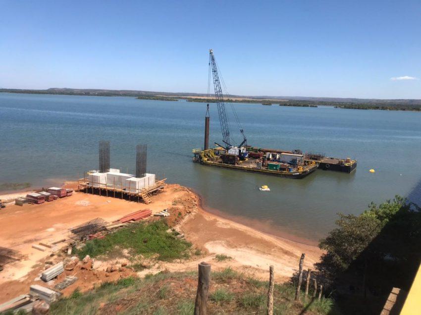 Governo do Tocantins inicia construção de fundações submersas da nova Ponte de Porto Nacional