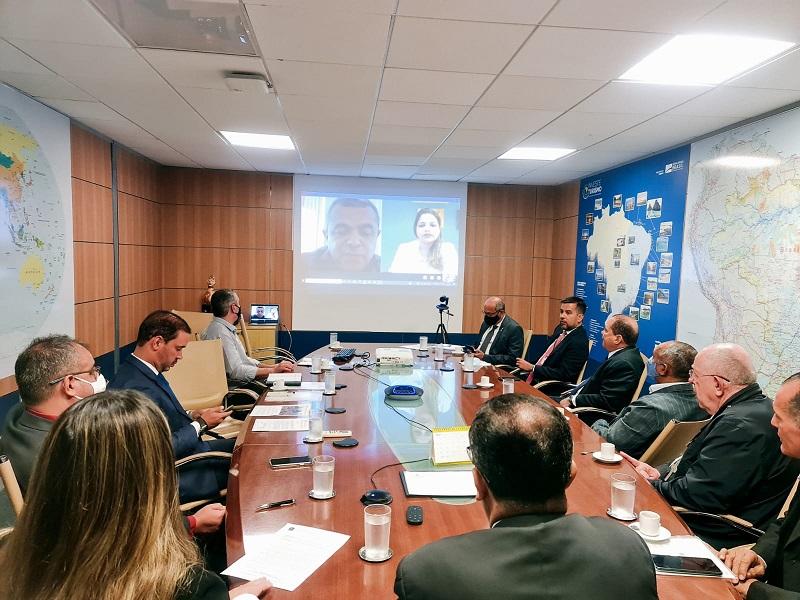 Prefeito Ronivon Maciel participa de audiência virtual sobre revitalização do centro histórico de Porto Nacional