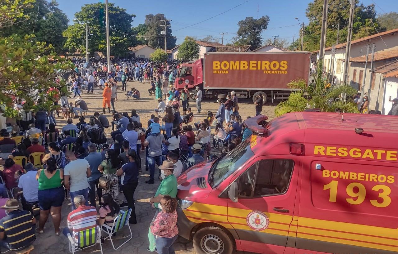 Bombeiros militares realizam atendimentos no Festejo do Senhor do Bonfim