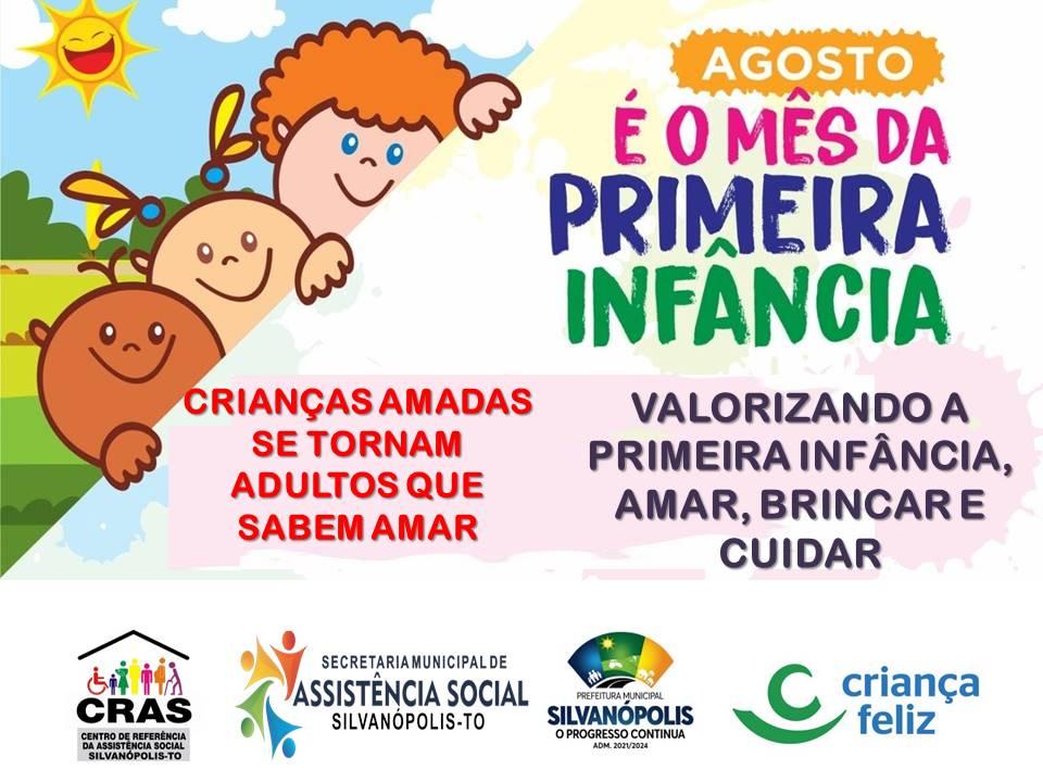 """Governo do Tocantins apoia campanhas municipais em comemoração ao """"Mês da Primeira Infância"""""""