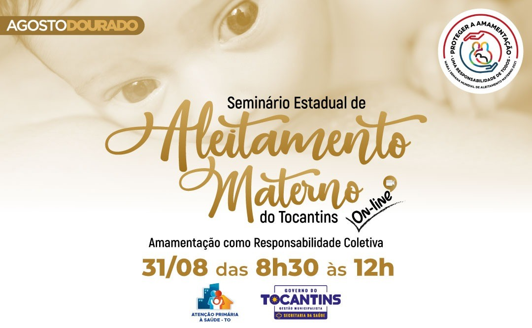 Saúde organiza Seminário Estadual de Aleitamento Materno