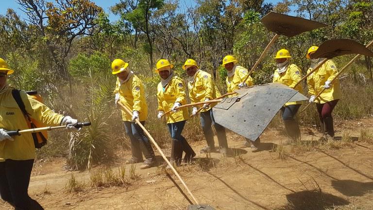 Primeira brigada indígena feminina é formada no Tocantins