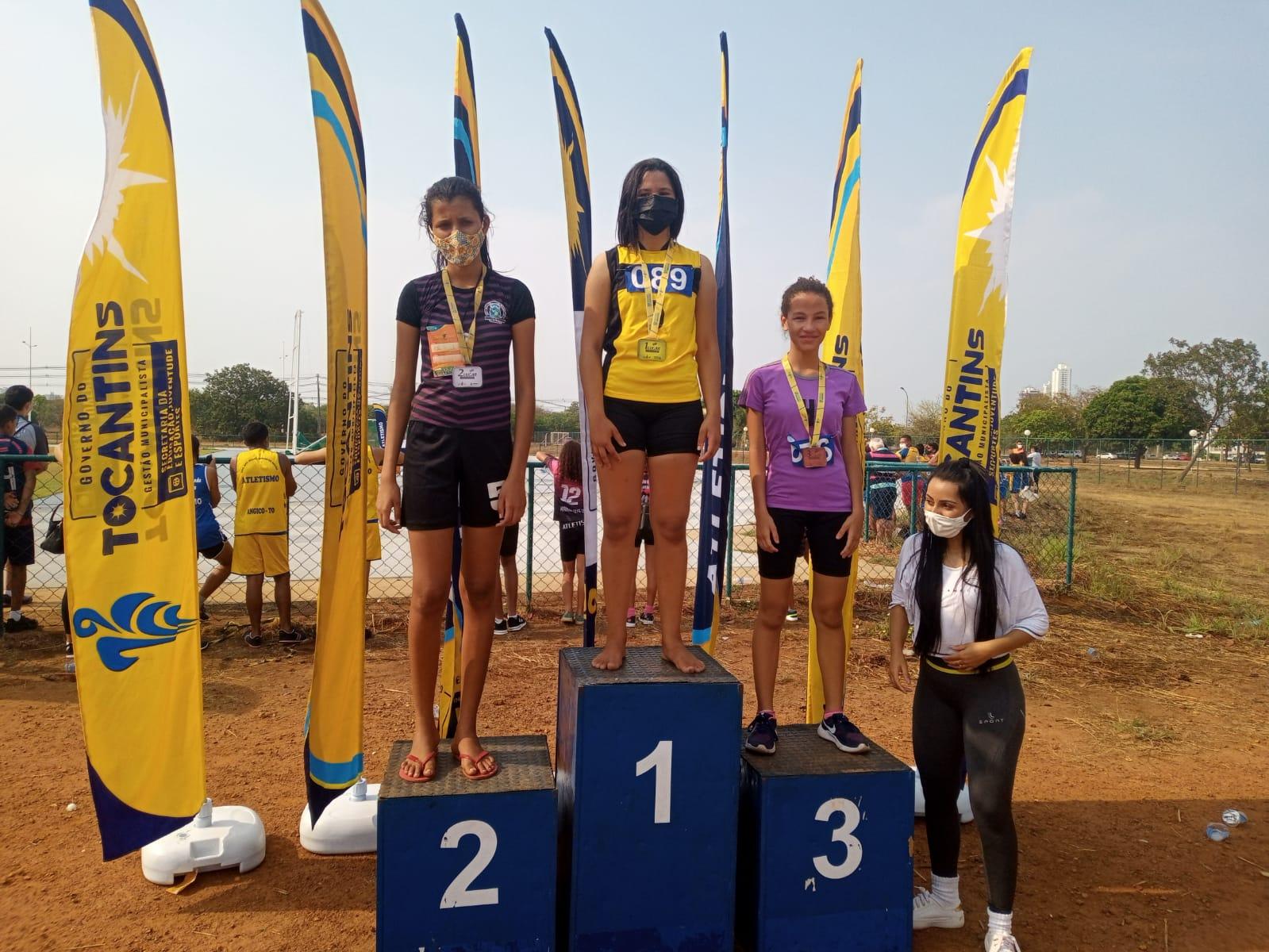 Atletas de Nova Rosalândia são classificadas para os Jogos Escolares Brasileiros