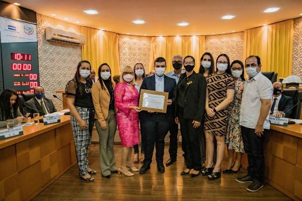 Câmara de Vereadores de Paraíso homenageia secretários municipais com Moção de Aplausos