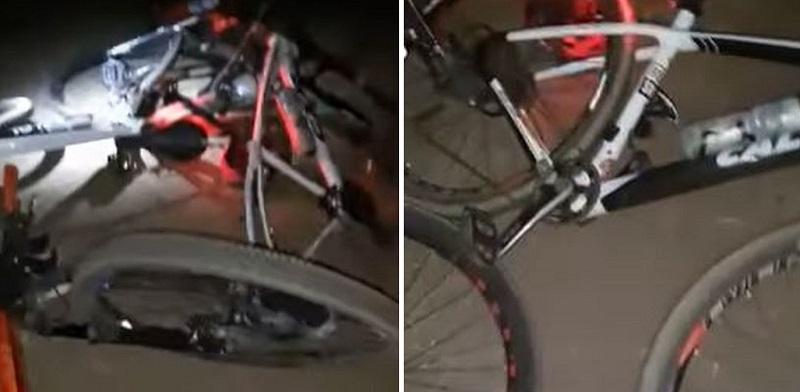 Quatro ciclistas são atropelados enquanto descansavam às margens da TO-070, no sul do TO
