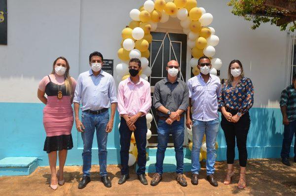 Com apoio da Prefeitura, Chapada de Areia recebe unidade do Núcleo do Instituto de Identificação