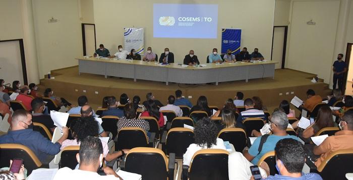 Em reunião com Cosems, Secretário Tollini fala de avanços na saúde e fortalece união com municípios