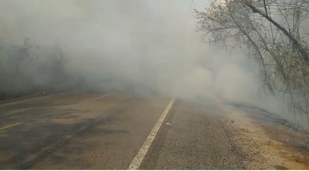 Defesa Civil suspeita que novo incêndio em Talismã tenha sido criminoso