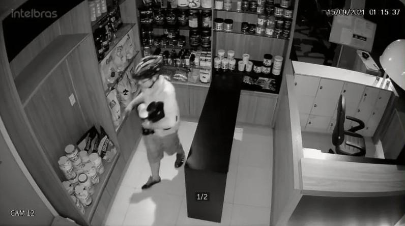 Polícia Civil identifica autor de furto em academia de Palmas e recupera produtos