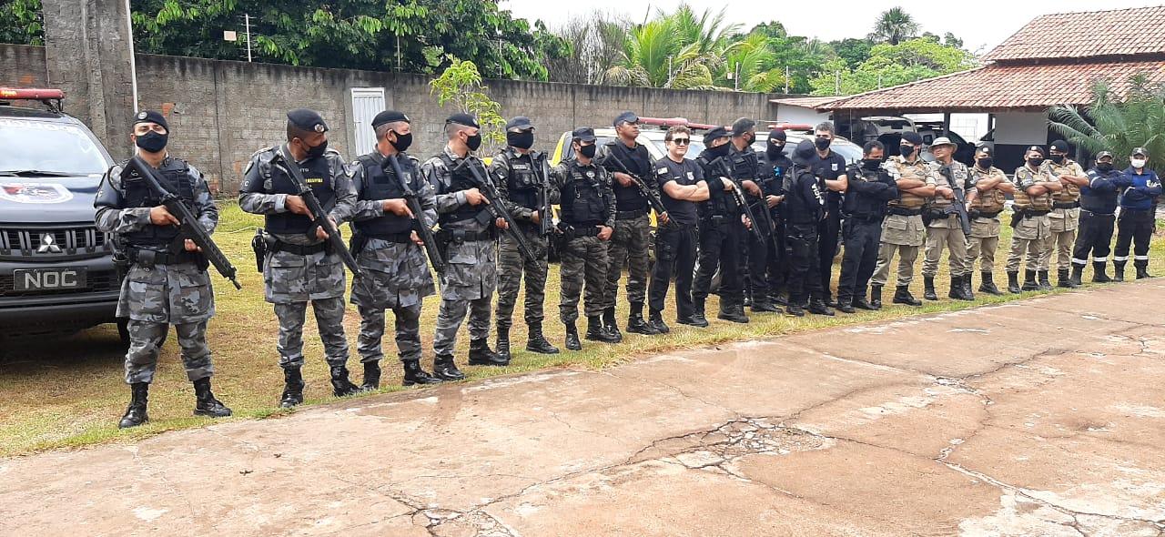 Polícia Militar e demais forças de segurança realizam Operação Adsumus no Tocantins