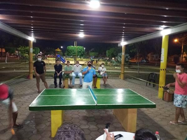 Prefeitura de Barrolândia promove 1º Torneio de Tênis de Mesa