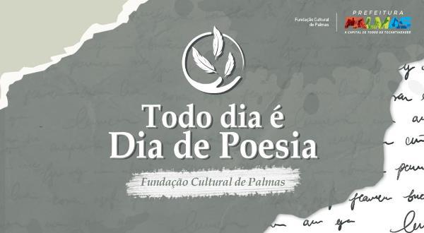 Segunda edição da 'Roda Poética' acontece nesta sexta, em Palmas