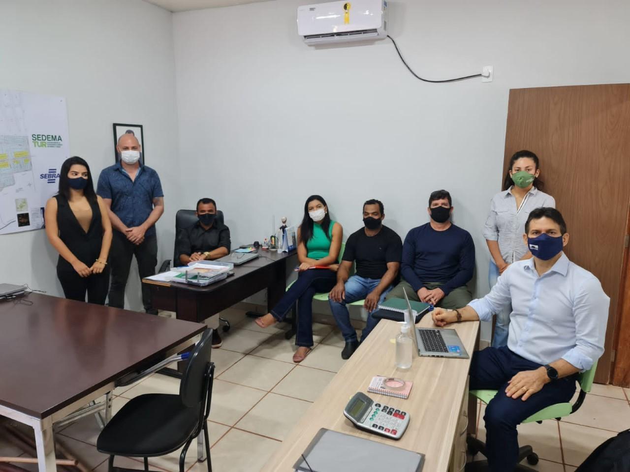 MPTO reúne-se com prefeitos de São Félix do Tocantins e Mateiros para tratar de resíduos sólidos urbanos e queimadas