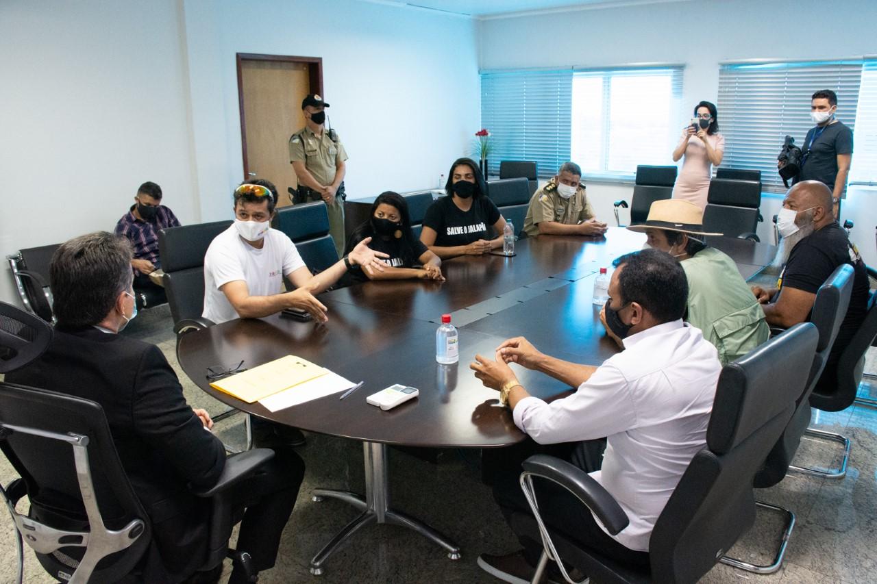 MPTO recebe manifestantes contrários à parceria público-privada para concessão do Parque Estadual do Jalapão