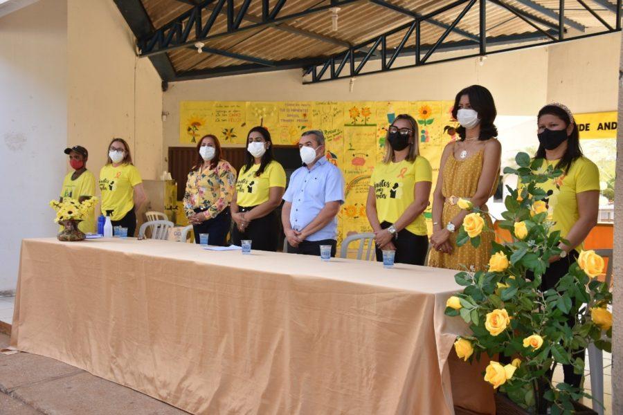 Campanha de prevenção ao suicídio é lançada em Porto Nacional marcando a Campanha Setembro Amarelo