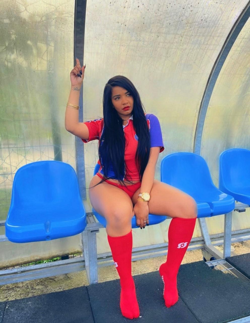 Sol Lopes encanta e arrasa como candidata à Musa do Bahia