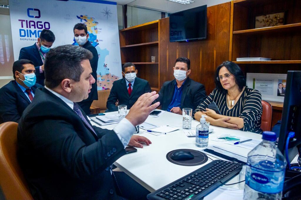 Em reuniões com ministros, Tiago Dimas busca apoio do governo federal para unidade feminina da Comunidade Vida Nova