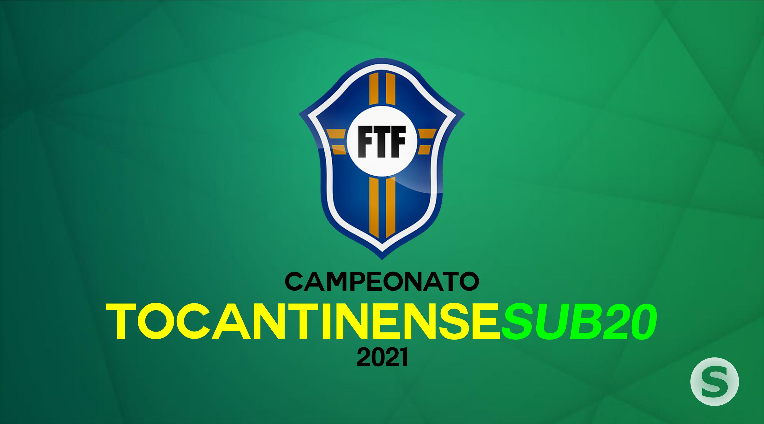 FTF divulga tabela e regulamento do Tocantinense de Futebol Sub-20 / 2021
