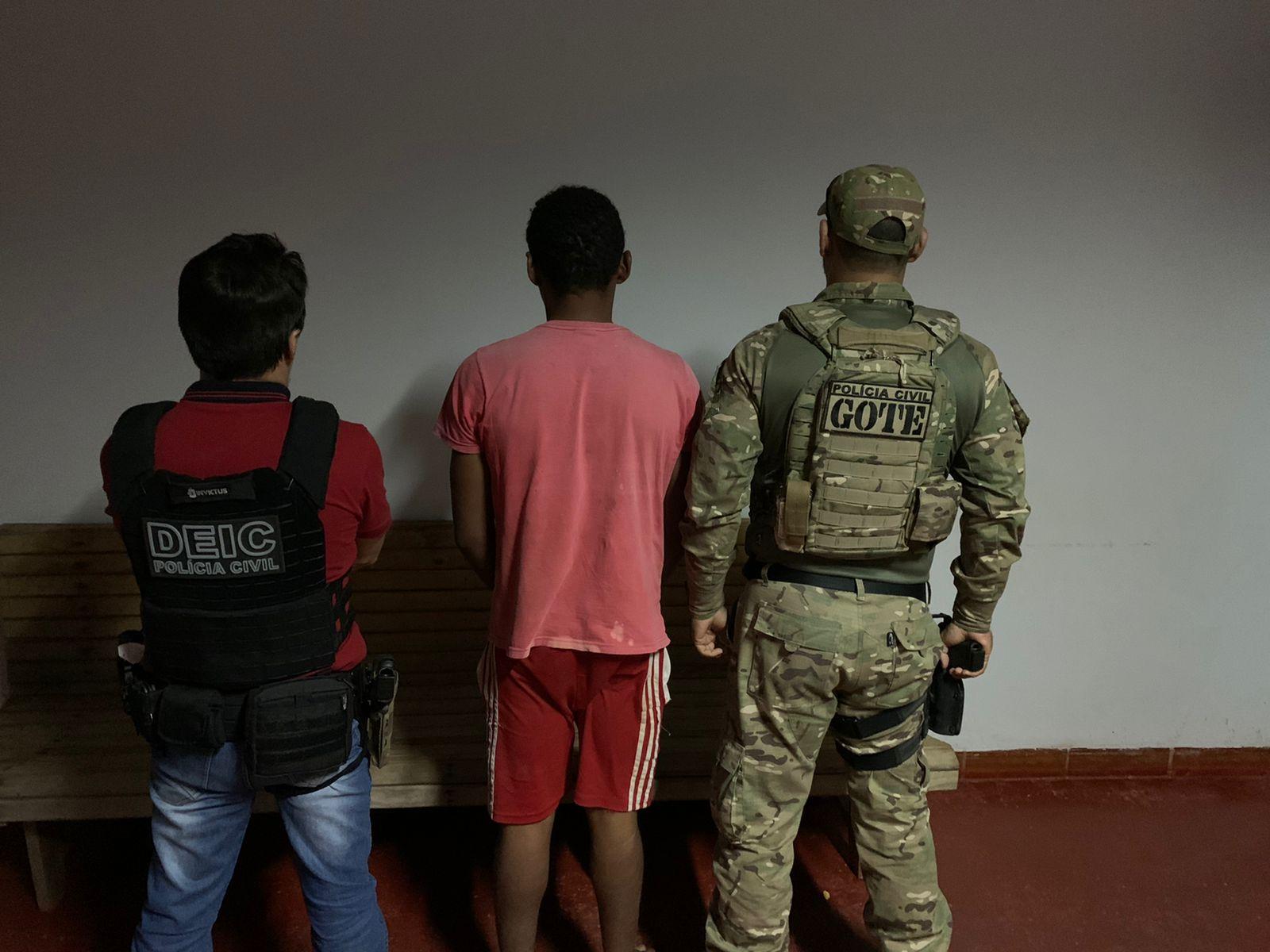 Polícia Civil do Tocantins deflagra mais uma fase da operação Hórus e prende homicida foragido da Justiça do Estado de Goiás