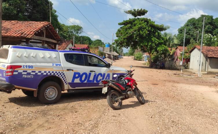 PM recupera motocicleta e prende homem por furto em Aragominas