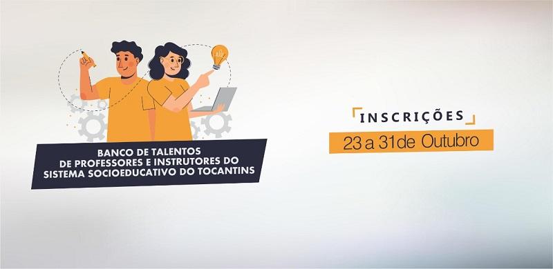 Seciju lança banco de talentos para servidores atuarem como instrutores em formações continuadas