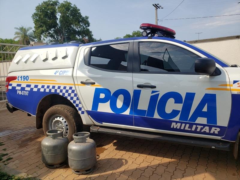 Polícia Militar prende em flagrante suspeito de furto em Lagoa da Confusão