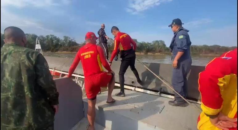 Bombeiros encontram sétima e última vítima de naufrágio em MS