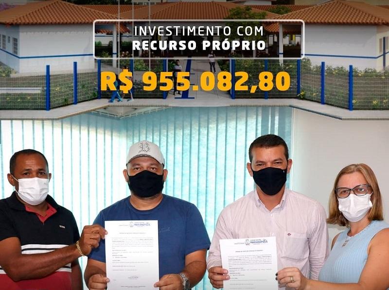 Prefeitura de Marianópolis anuncia construção de escola no P.A. Piracema