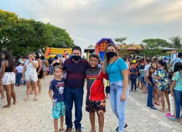 Prefeitura de Barrolândia celebra Dia das Crianças com grande festa ao ar livre