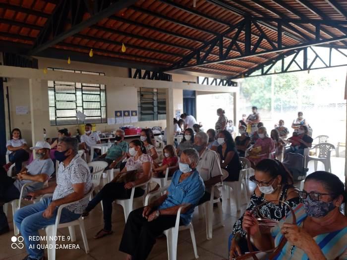Prefeitura de Nova Rosalândia promove ação comunitária no povoado Campo Maior