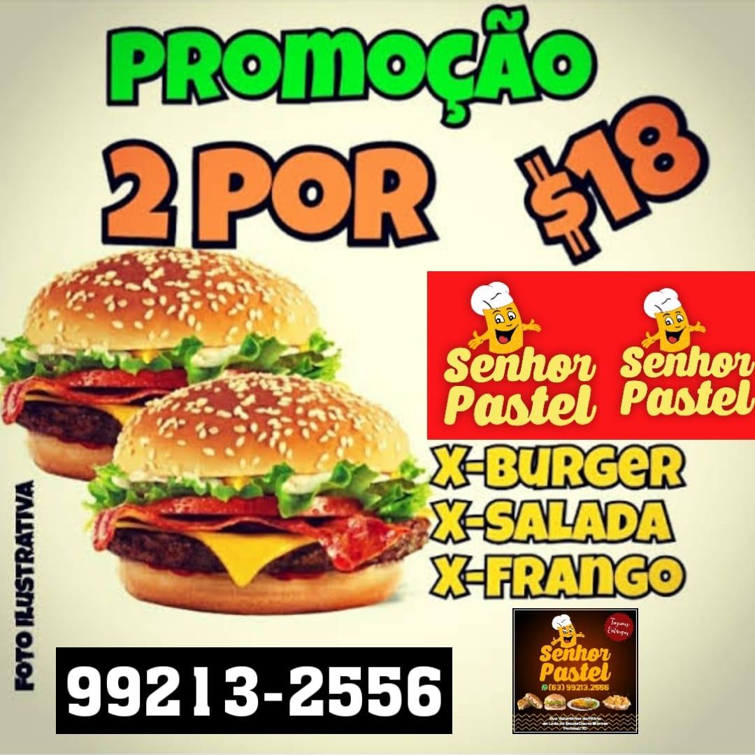 Super promoção está de volta: Senhor Pastel oferece dois sanduíches por 18 reais em Paraíso