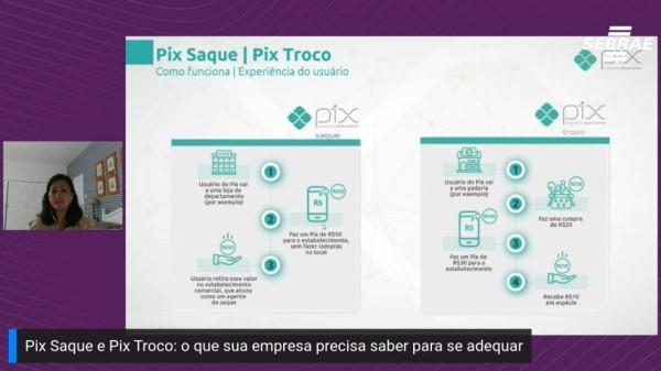 Sebrae orienta sobre as novas funcionalidades do PIX