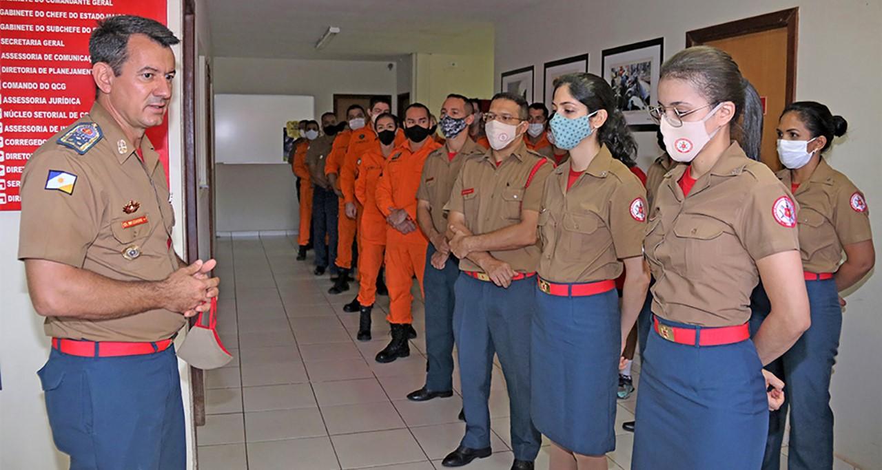 Governo do Tocantins publica Lei sobre promoções do Corpo de Bombeiros Militar